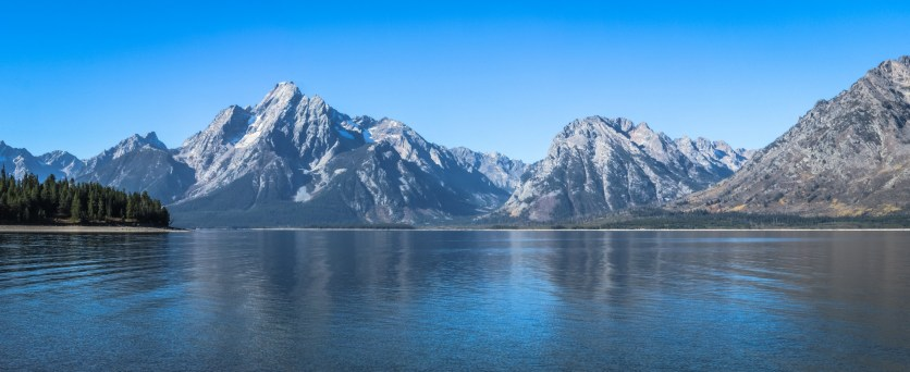 Grand Tetons at Colter Bay