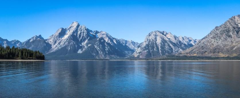 Grand Tetons at Colter Bay