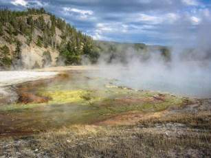 Excelsior Geyser Outflow