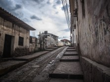 Sidewalks of Cusco