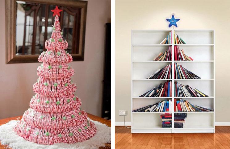 20 Awesome Christmas Tree Alternatives