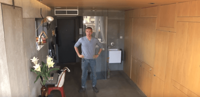 He Transforms His Tiny Apartment Multiple Times Each Day. Get Ready to Be Inspired!