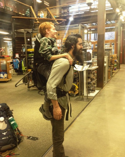 Florida Friends To Carry Their Disabled Pal On Their Backs Through Europe