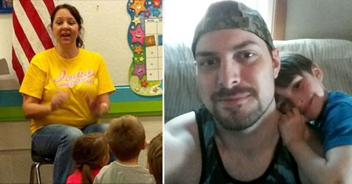4-year-old reveals father's secret at school – then teacher rushes to her phone and demands answers