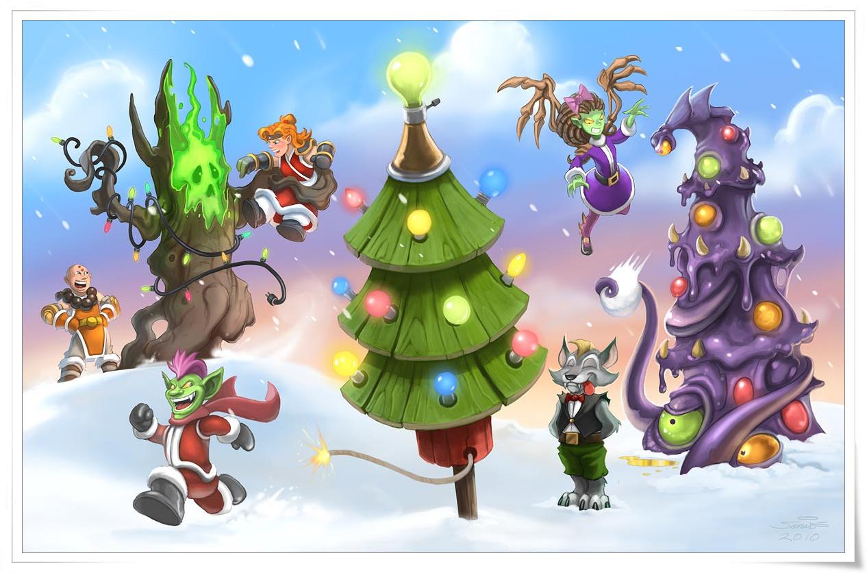 Video Game Christmas Cards Boredgamergirl