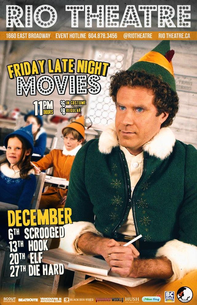 late night movies at the rio