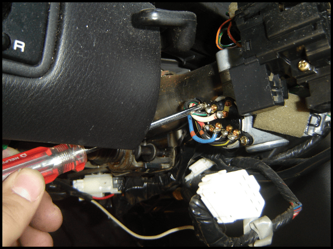 1995 Nissan Pathfinder Ignition Switch