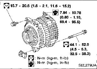 1998 Nissan Maxima Alternator ~ Perfect Nissan