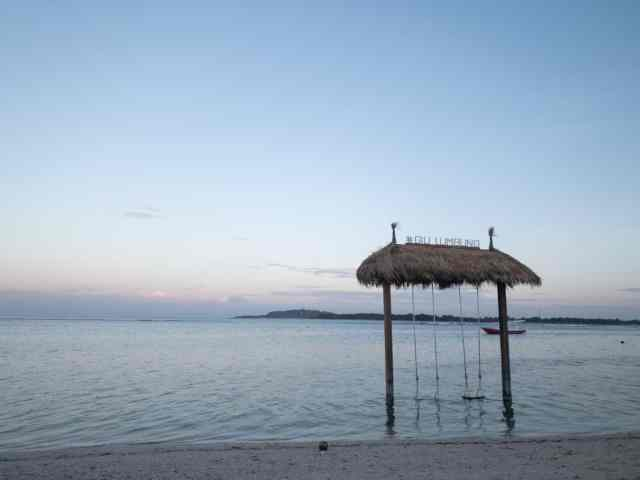 Gili Air Island at Sunrise for Gili Island by Fastboat Article
