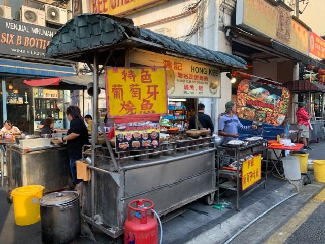 Hong Kee Famous Claypot Food Stall Chinatown Kuala Lumpur Cheap Eats
