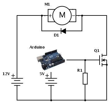 Cordless Drill Motor as Gear Motor