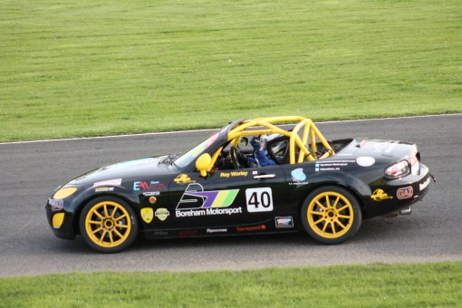 Croft BRSCC MX-5  SuperCup 2015