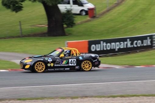 Oulton Park BRSCC MX-5 SuperCup 2016