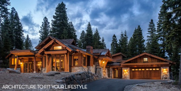 Lavish Mountain Home Design or Classic TahoeStyle Ski