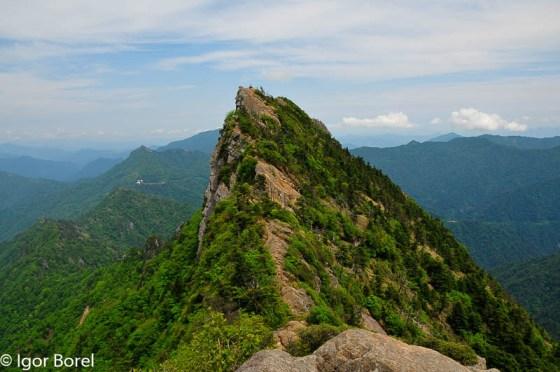 Ishizuchisan 石鎚山, 1.982 m