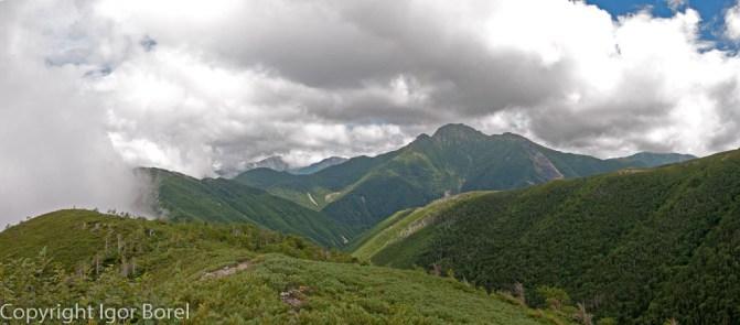 Shiomi-dake 塩見岳, 3.052. m