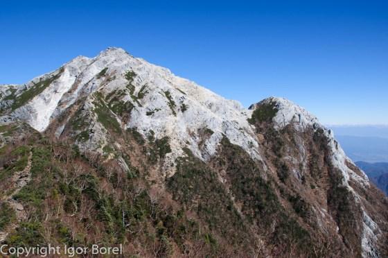 Kaikomagatake 甲斐駒ヶ岳, 2.967 m