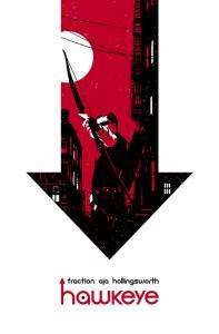 Hawkeye cover by David Aja