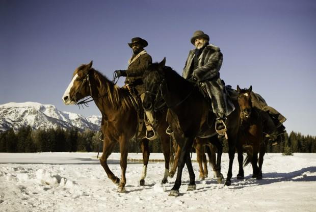 Django winter horse scene