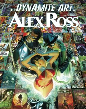 Dynamite Art of Alex Ross cover
