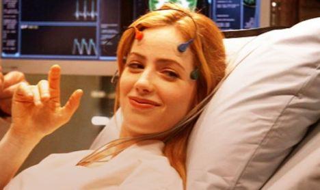 Newman as Laura Cadman on Stargate Atlantis