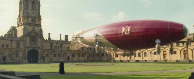 Steampunk dirigible