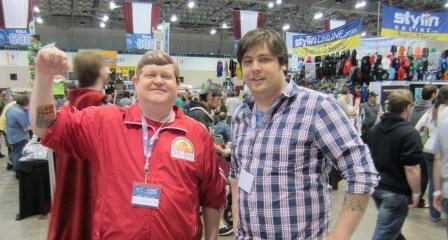CJ Bunce and Aaron Gillespie