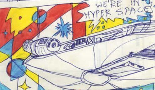 John White Star Wars Age 9 art