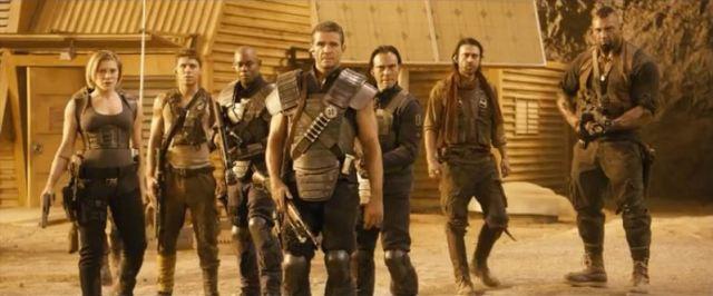Bounty hunters in Riddick