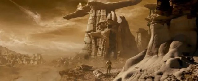 sci fi and fantasy mix in Riddick
