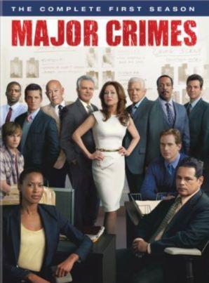 Major Crimes Complete First Season DVD