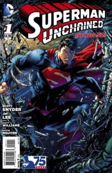 Superman Unchained 1 standard edition