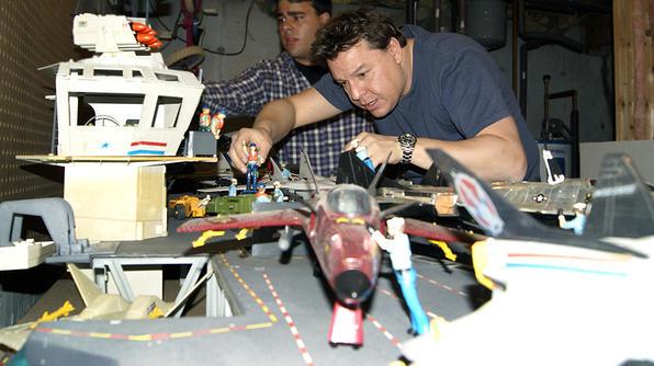 Toy Hunter Jordan and USS Flagg