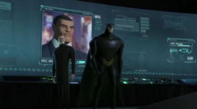 Alfred and Batman