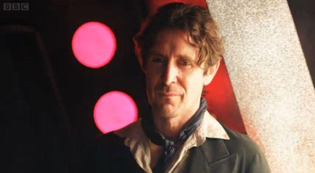 Paul McGann returns as Eighth Doctor