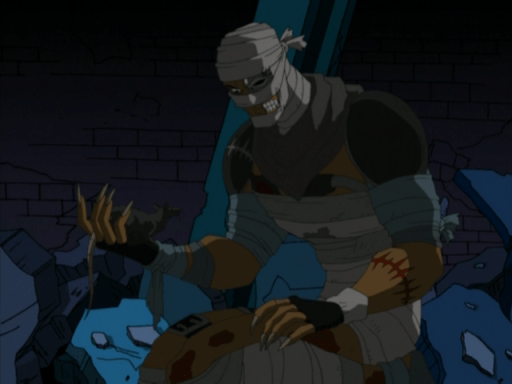 Borg HOF TMNT Slayer becomes Rat King in 2003 animated series
