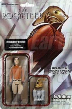 Rocketeer ReAction figure card