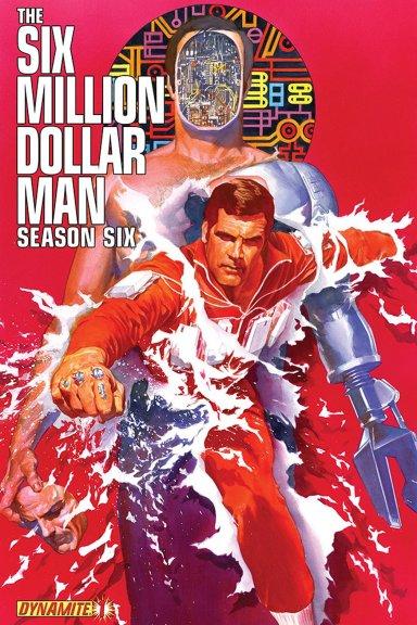 Six Million Dollar Man Season Six cover 1