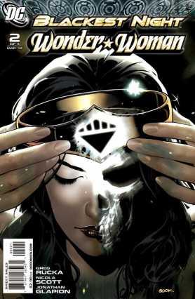 Ryan Sook Blackest Night Wonder Woman 2 cover