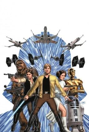 Marvel Star Wars 1 Cassaday cover art