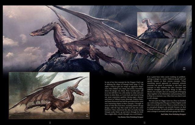 Smaug Unleashing the Dragon excerpt