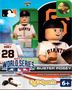 Buster Posey SF Giants World Series Oyo figure 2014