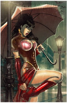 Legenderry Vampirella Poulat cover