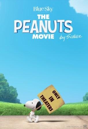Peanuts movie poster