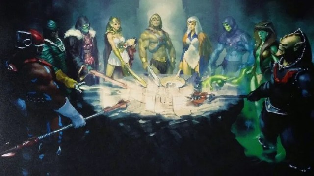 He-Man print in limited edition of The Art of He-Man and the Masters of the Universe
