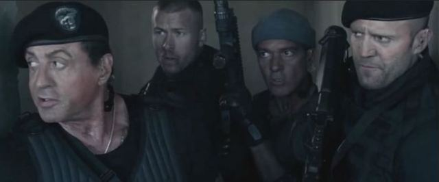 Expendables team