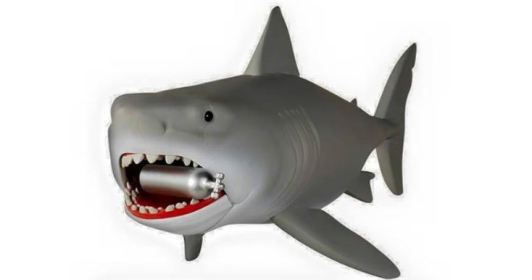 Funko Reaction Jaws Great White shark