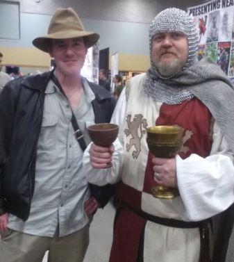Indiana Jones and Grail Knight Indiana Jones and the Last Crusade