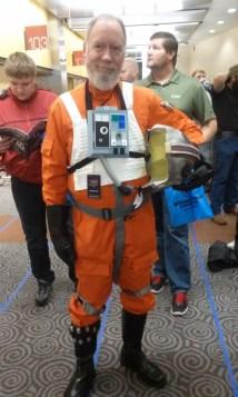 X-Wing pilot Wizard World Des Moines 2015