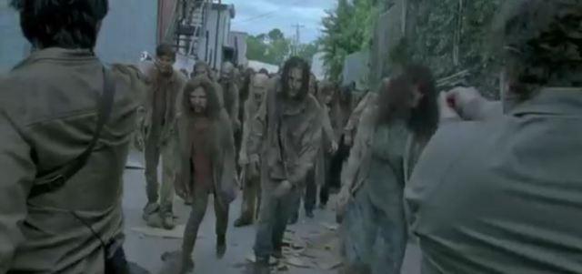 Walking Dead clip season 6